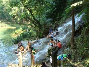 Palenque baignade