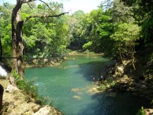 Palenque etendue d´eau