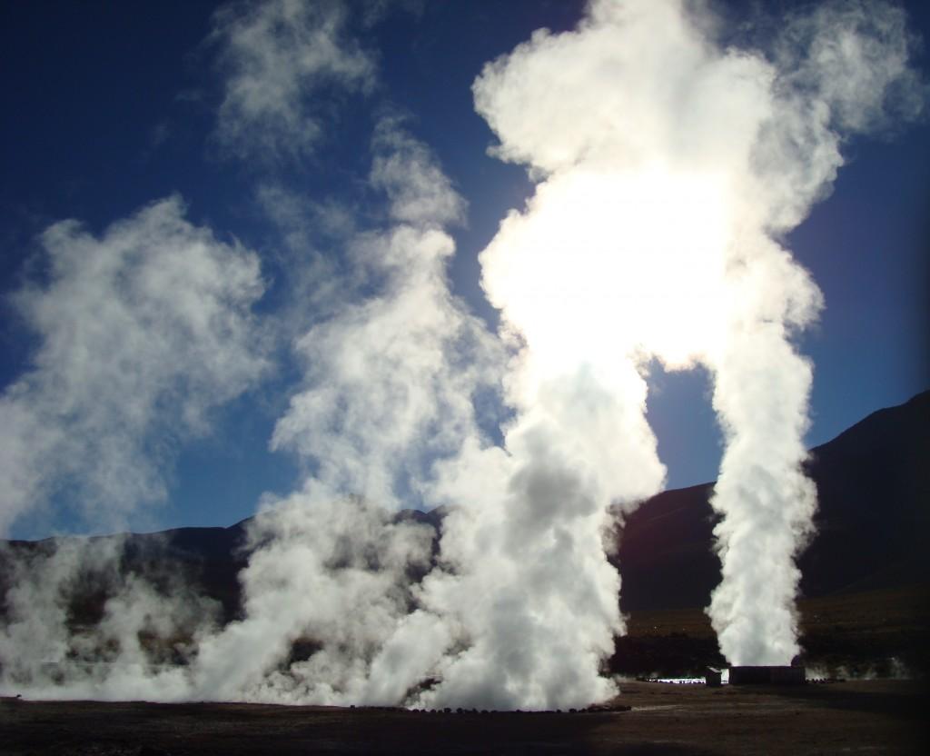 Une fabrique à nuage naturelle.