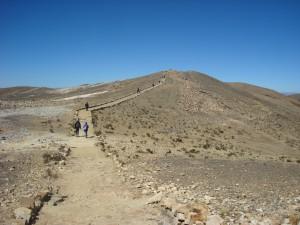 Le chemin sur l'Isla del Sol me faisait penser à la muraille de Chine, bien que je ne l'ai jamais vu de mes propres yeux ! -pour l'instant-