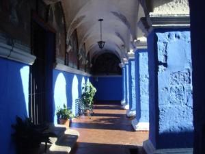 arequipa monastere bleu