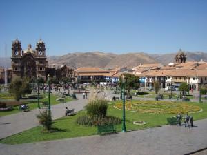 La belle place sans ombre de Cusco