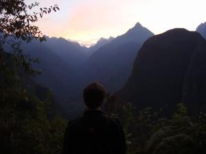 Se lever tôt vaut le coup ! L'aube durant notre ascension...