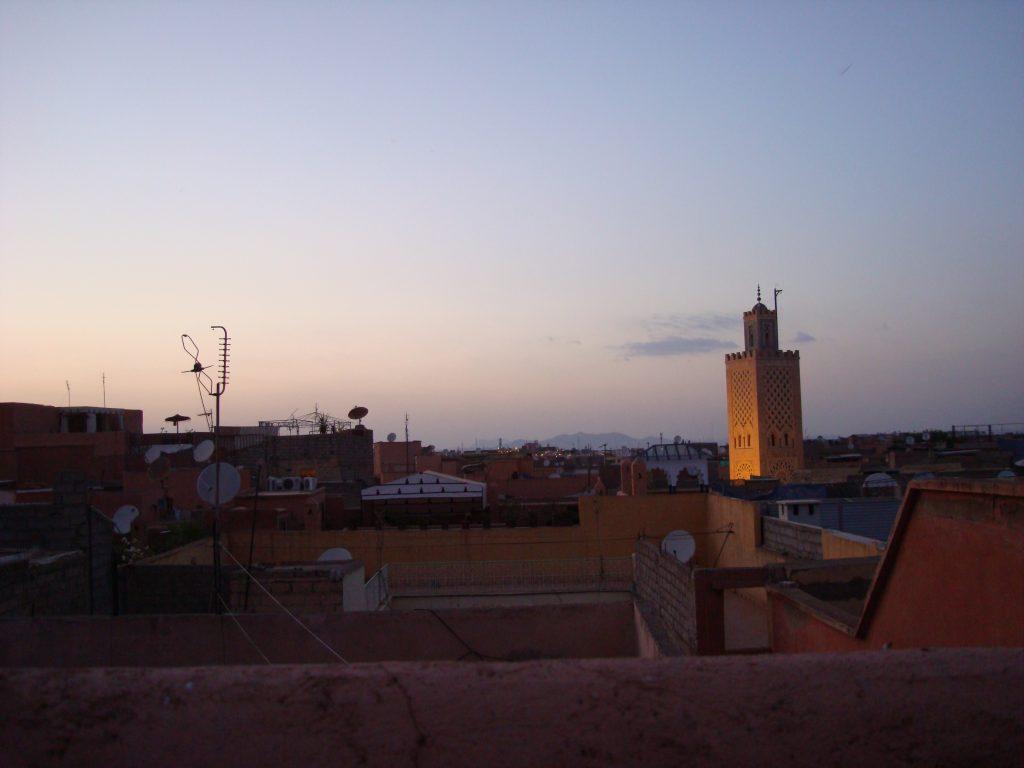Vue sur la Medina depuis le Riad