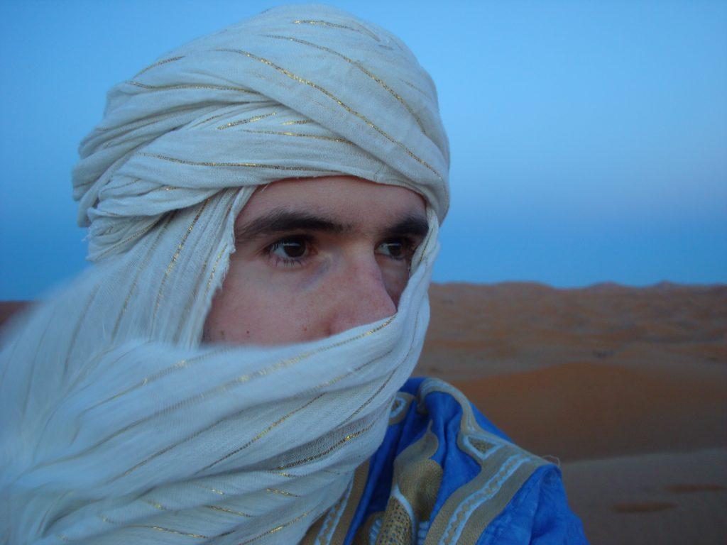 Parmi les meilleurs instants du voyage, : passer la nuit dans le Sahara