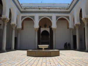 Cour Intérieure du musée de la Kasbah